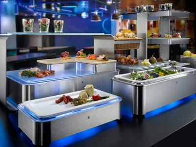 WMF Quadro, equipo para buffet ganador del German Design Award 2019